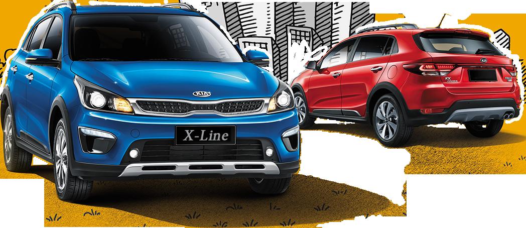 Kia Rio X-Line — Характеристики, отзывы, фото, видео