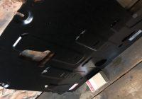Покупка и установка защиты двигателя на КИА Рио Икс Лайн
